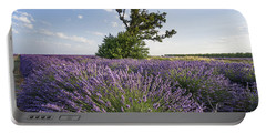 Portable Battery Charger featuring the photograph Lavender Provence  by Juergen Held