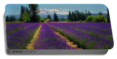 Lavender Valley Farm Portable Battery Charger