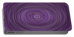 Lavender Vortex Portable Battery Charger