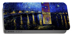 Layered 15 Van Gogh Portable Battery Charger