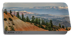 Portable Battery Charger featuring the photograph Layers And Light At Bryce Canyon by Gaelyn Olmsted