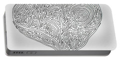 Laying Your Heart On A Line  Portable Battery Charger