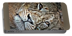 Lazy Lion Portable Battery Charger