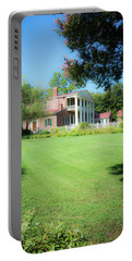 Portable Battery Charger featuring the photograph Lazy Summer Day - The Hermitage by James L Bartlett