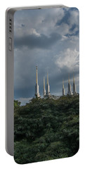 Lds Storm Clouds Portable Battery Charger