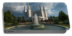 Lds Water Fountain  Portable Battery Charger