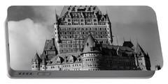 Le Chateau Frontenac - Quebec City Portable Battery Charger by Juergen Weiss