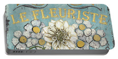 Le Fleuriste De Botanique Portable Battery Charger by Debbie DeWitt
