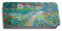Le Jardin De Giverny Portable Battery Charger