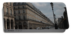 Portable Battery Charger featuring the photograph Le Meurice Hotel, Paris by Christopher Kirby
