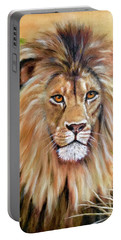Le Roi-the King, Tribute To Cecil The Lion   Portable Battery Charger