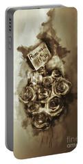 Les Roses De Paris Portable Battery Charger