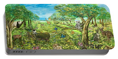Le Royaume Animal De Yang Portable Battery Charger by Belinda Low