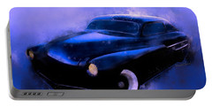 Lead Sled 51 Mercury Watercolour Illustration Portable Battery Charger