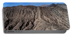Leading To The Volcano Crater Portable Battery Charger