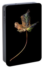 Portable Battery Charger featuring the photograph Leaf 1 by David J Bookbinder