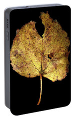 Portable Battery Charger featuring the photograph Leaf 13 by David J Bookbinder