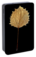 Portable Battery Charger featuring the photograph Leaf 14 by David J Bookbinder