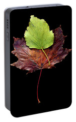 Portable Battery Charger featuring the photograph Leaf 15 by David J Bookbinder