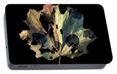 Portable Battery Charger featuring the photograph Leaf 16 by David J Bookbinder