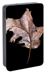 Portable Battery Charger featuring the photograph Leaf 2 by David J Bookbinder