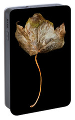 Portable Battery Charger featuring the photograph Leaf 3 by David J Bookbinder
