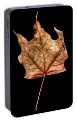 Portable Battery Charger featuring the photograph Leaf 4 by David J Bookbinder