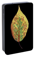 Portable Battery Charger featuring the photograph Leaf 5 by David J Bookbinder
