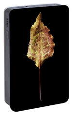 Portable Battery Charger featuring the photograph Leaf 6 by David J Bookbinder