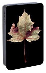 Portable Battery Charger featuring the photograph Leaf 7 by David J Bookbinder