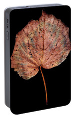 Portable Battery Charger featuring the photograph Leaf 8 by David J Bookbinder