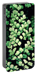 Leaf Abstract 15 Portable Battery Charger by Sarah Loft