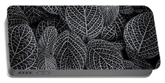 Portable Battery Charger featuring the photograph Leaf Pattern by Wayne Sherriff