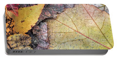 Leaf Pile Up Portable Battery Charger