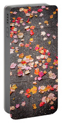 Leafy Autumn Walk Portable Battery Charger