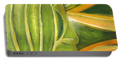 Leafy Greens Portable Battery Charger