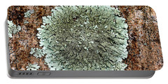 Leafy Lichen Portable Battery Charger