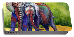 Lean On Me Portable Battery Charger by Barbara Jewell