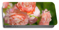 Leander English Rose Portable Battery Charger by Verena Matthew