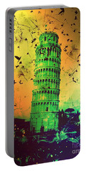 Leaning Tower Of Pisa 32 Portable Battery Charger