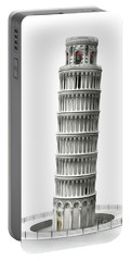 Leaning Tower Of Pisa, Italy Portable Battery Charger