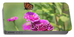 Leaping Butterfly Portable Battery Charger