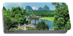 A View In Yangshuo Portable Battery Charger