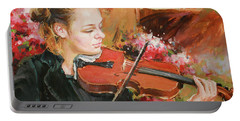 Learning The Violin Portable Battery Charger