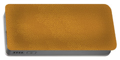 Portable Battery Charger featuring the painting Leather Texture Background Graphics Christmas Holidays Festivals Birthday Mom Dad Sister Brother Fun by Navin Joshi