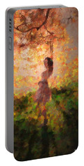 Portable Battery Charger featuring the photograph Leave The Past by Rose-Maries Pictures
