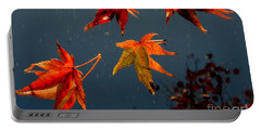 Leaves Falling Down Portable Battery Charger