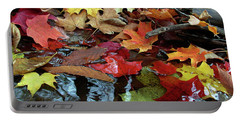 Leaves Of Color Portable Battery Charger