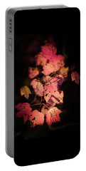 Portable Battery Charger featuring the photograph Leaves Of Surrender by Karen Wiles