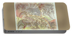 Leaves On The Petals Portable Battery Charger